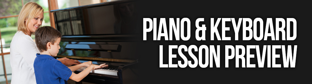 Piano & Keyboard Preview Lesson